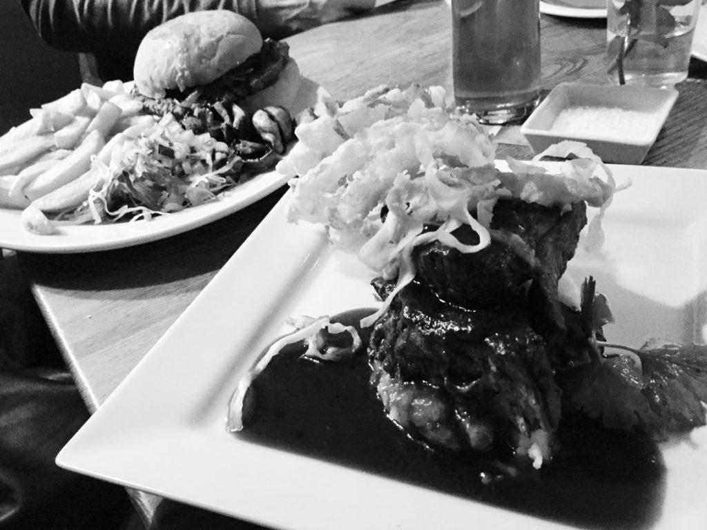 Steak und Burger